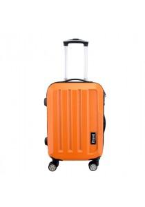 "Fashion Gorgeous Solid Hard Case ABS Luggage Bag Set 20"""