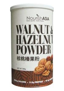 Pack of 3 Nourish Asia I-Organic Hazelnut & Walnut Powder