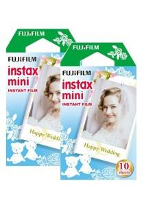Fujifilm Instax Mini Instant Film (Weddingy) 20 Pcs