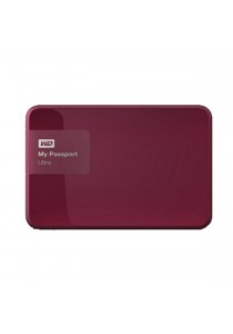 Western Digital 1TB My Passport Ultra (WDBGPU0010BBY-NESN) - Maroon