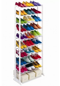 Amazing Stainless Steel Shoe Rack