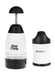 Slap Chop Dice Mince With Graty Set