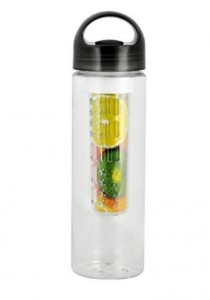 Tritan Plastic Fruit Juicer BPA Free Bottle 700ml (Black)