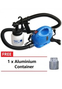Paint Zoom Professional Electric Paint Sprayer Paint Gun with 3 Way Sp + + Aluminium Container