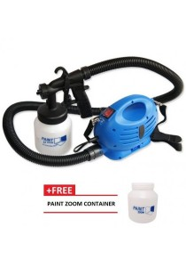 Paint Zoom Professional Electric Paint Sprayer Paint Gun with 3 Ways Sp + FREE Paint Zoom Container