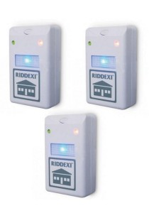 Riddex Plus Digital Pest Repeller (3 Units)