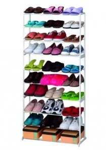 Tier Amazing Stainless Steel Shoe Rack