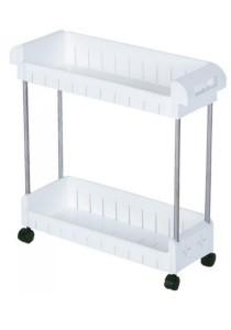 2-Tier Stackable Multipurpose Kitchen Storage Rack