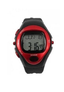Multifunctional Health Checks Watch (Red)