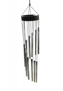 Wind Chimes - Silver Color - Feng Shui Home Decoration
