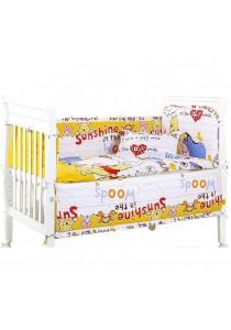 Winnie The Pooh Premium Baby Bedding Set - 5 pcs