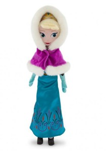 Disney Frozen Elsa Plush Doll Winter Edition 40cm