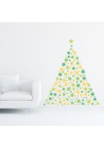 Walplus Combo Christmas Deco (Star) Wall Stickers