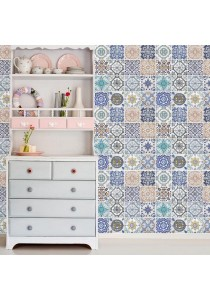 Walplus Mosaic Tile Mural Wall Stickers (Wallpaper)