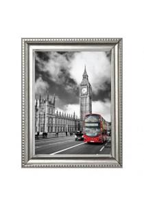 Walplus Frame - Big Ben & Red Bus In London Wall Stickers