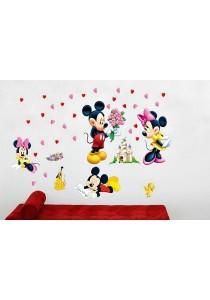 Walplus Lovely Mickey & Minnie Wall Stickers