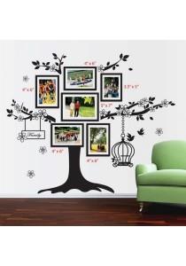 Walplus Photo Frame Birdcage & Tree Wall Stickers (XL Series)