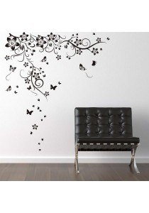 Walplus Butterflies Vine Wall Stickers (XL Series)