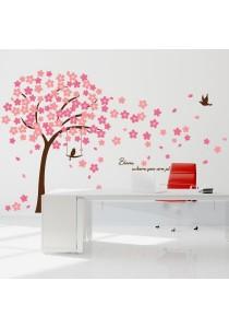 Walplus Double Way Cherry Blossom Wall Stickers (XXL Series)