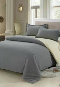 Bliss Colour Blocks Design 1 Fitted Bedding Set (Queen)