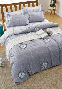 Bliss New Scandinavian Design 4 Fitted Bedding Set (Queen)