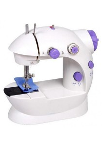 Bliss Mini Sewing Machine ABS Dual Speed with Power Supply Home Supplier (ASOTV)