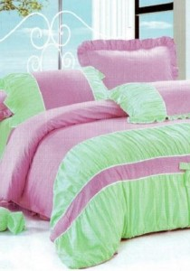 Bliss Home Princess Ribbon Non-fitted Bedsheet Set