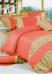 Bliss Home Classical Design Non-fitted Bedsheet Set
