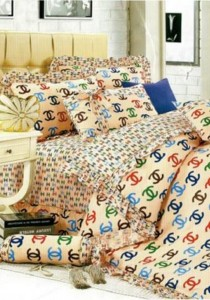 Bliss Home Venice design Non-fitted Bedsheet Set