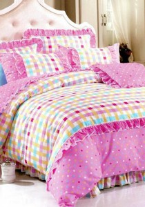 Bliss Home Romance Design Non-fitted Bedsheet Set