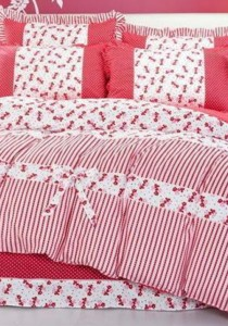 Bliss Home Korea Vintage Design 9 Non-Fitted Bedding Set With Quilt Cover (Queen)