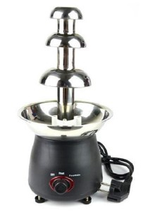 Home Stainless Steel Chocolate Fountain Machine (Small)