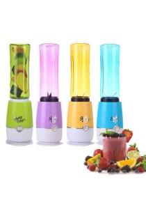 [Limited Offer] Shake N Take 3 Mini Juice Fruit Blender Sport Drink 2 Bottle (Random Color)
