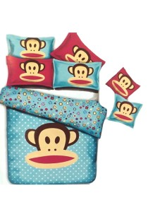 5D Blue Dream Paul Frank Bedding Set With Quilt Cover (Queen)