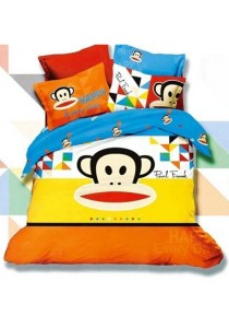 5D Happyday Paul Frank Fitted Bedding Set With Quilt Cover (Queen)