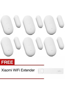 Xiaomi Smart Home Security Wireless Sensors Home Kit Of Door Window Sensor + Free WiFi Extender