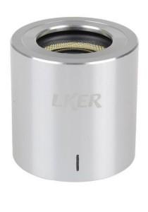 LKER Mini Bluetooth Speaker Ultra-Portable Wireless Speaker (Silver)