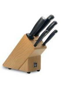 Wusthof 9829 Silverpoint Knife Block Set of 5