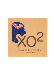 X02 Hi-Microfiber for iPad Camera Laptop Eye Glasses Handkerchief (iKebano Floral Blue)