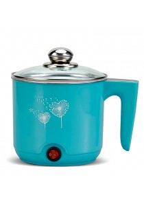 Multifunctional Mini Rice Pot Cooker 1.0L With Power Auto Cut-off