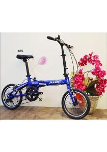 """16"""" XDS FA20 Grey (7 Speed) Folding Bike"""