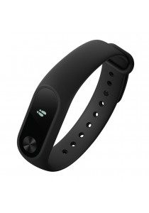Xiaomi Mi Band 2 Smart Heart Rate OLED Display Clock Bluetooth Smartband Wristband (Black)