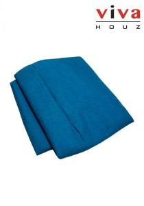 VIVA HOUZ XL Bean Bag Cover - Blue