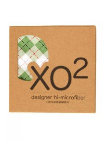 XO2 Hi-Microfiber for iPad Camera Laptop Eye Glasses Handkerchief (Classic Check Green)