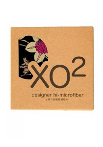XO2 Hi-Microfiber for iPad Camera Laptop Eye Glasses Handkerchief (iKebano Floral Black)