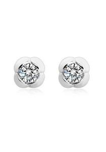 OUXI 925 Sterling Silver Tulip Earrings
