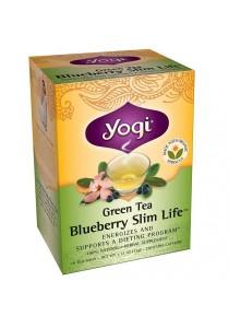 Yogi Tea Green Tea Blueberry Slim Life 16 Tea Bags