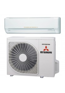 Mitsubishi 1.0HP DC Super Inverter 3D Deluxe Air Conditioner R410A Gas 50Hz/60Hz SRK10YLS