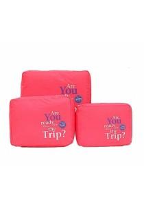 3 Pieces Travel Bag Organizer B2101