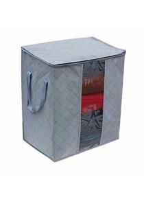 Bamboo Charcoal Clothes Storage Bag Organizer Box B3706
